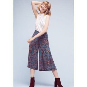 Anthropologie Snake Print The Essential Culotte